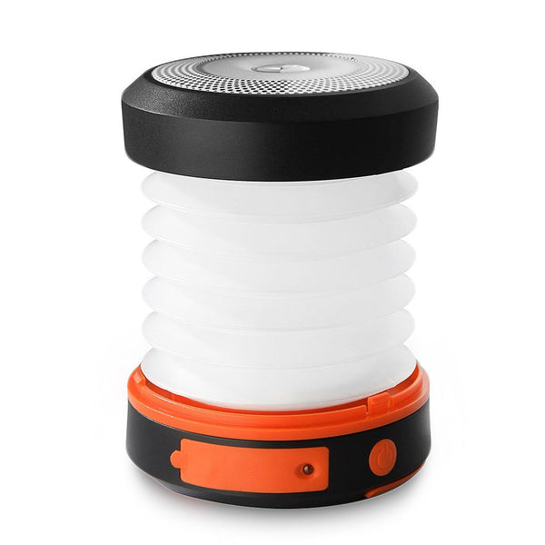 Collapsible Solar Camping Lantern (Powered by Solar Panel and USB Charging)
