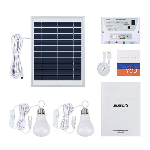 Outdoor Solar Lighting System (Full Kit)