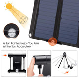 Foldable Portable Solar Charger 28W