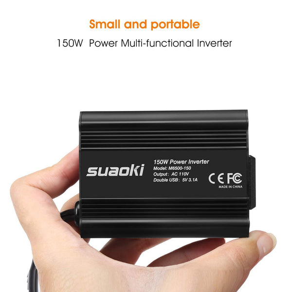 Power Inverter for Car 150W