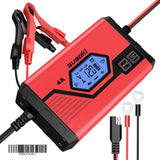 Car Battery Charger 4A 6/12V