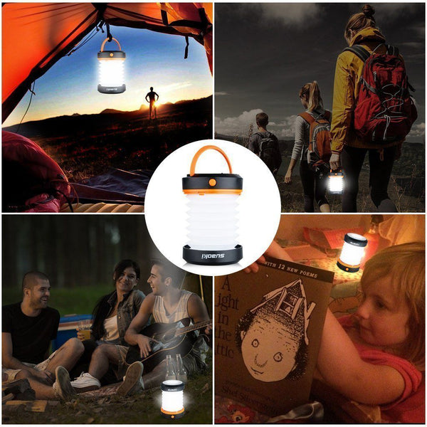 LED Camping Lantern (Powered By 3AA Batteries)