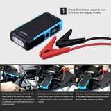 U10 800A Peak 20000mAh Portable Car Jump Starter
