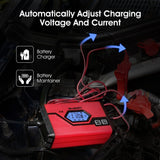 4A 6/12V Car Battery Charger