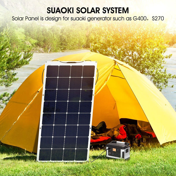 100W Semi-Flexible Solar Panel