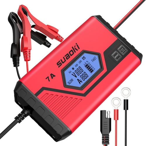 12V Battery Charger ICS7+