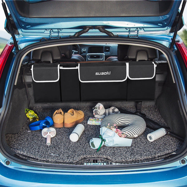 Car Trunk Organizer with Adjustable Strap