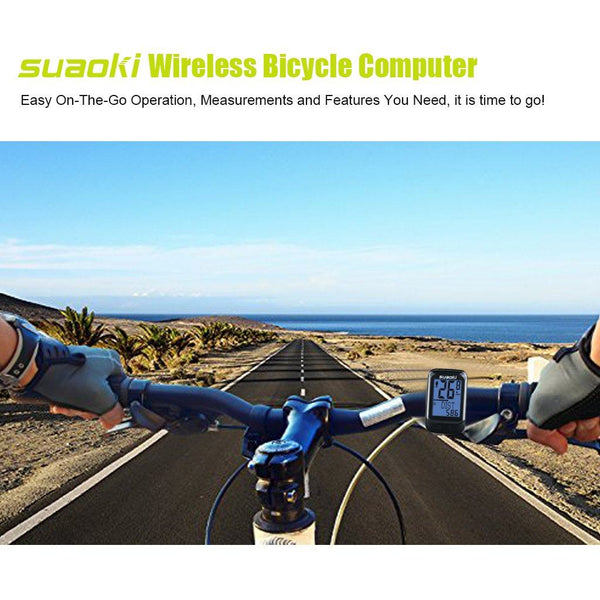 BKV-3600 Wireless Bike Computer