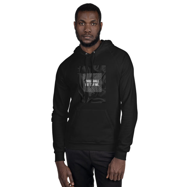 Thou shall not try me - Black Men's Fleece Hoodie