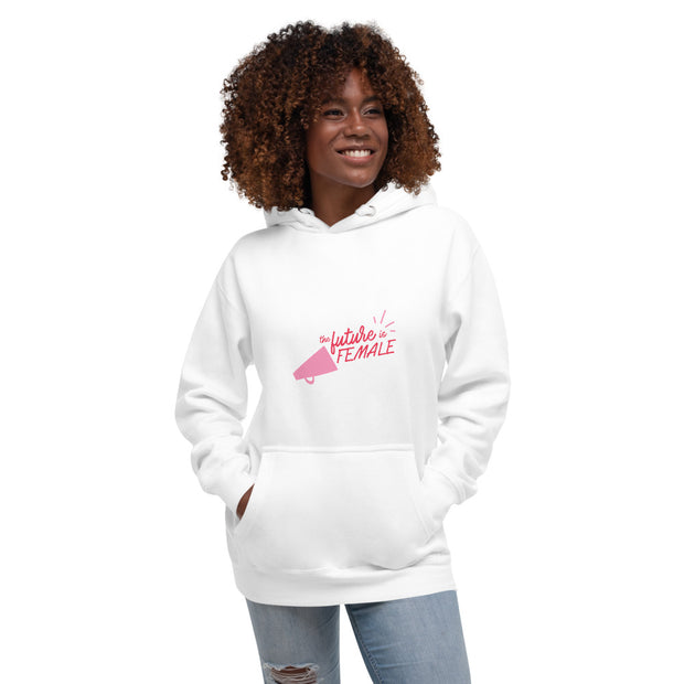 The Future is Female- Women's Cozy Cotton Hoodie