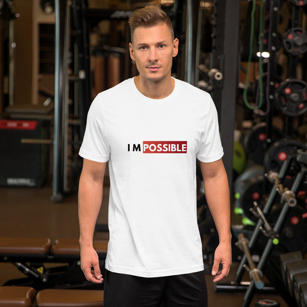 IM Possible - Men's White Short-Sleeve T-Shirt
