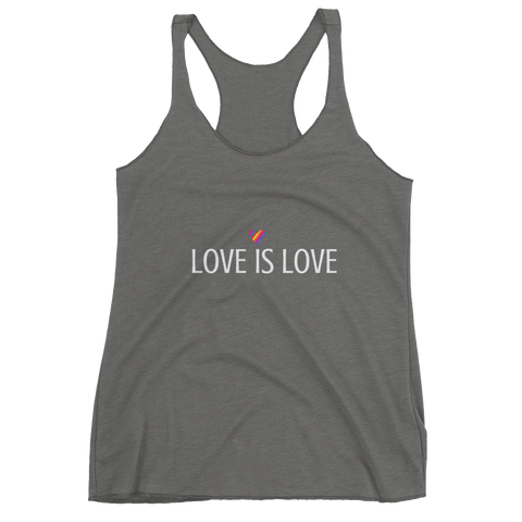 Love is Love - Women's Racerback Tank