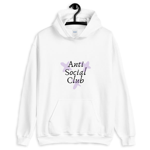 Anti Social Club - White Women Hoodie