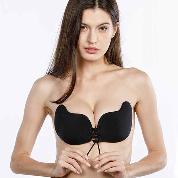 Invisible Silicone Sticky Push Up Bra