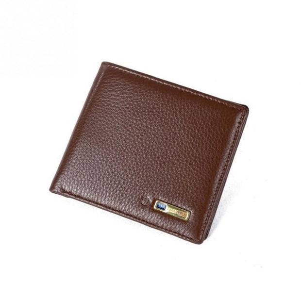 Men's Genuine Leather Smart Wallet