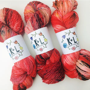 Hearts Aflame - Sparkle Sock