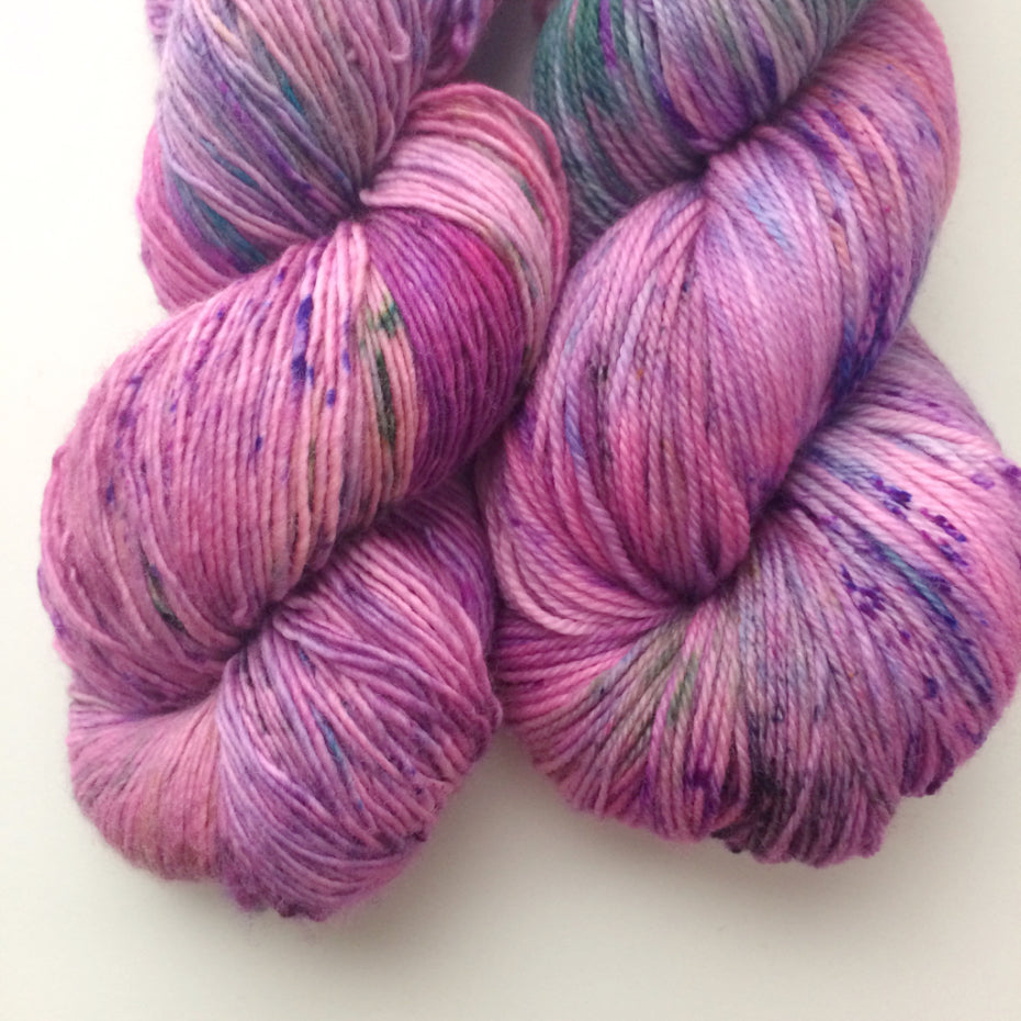 Lilac on the Town - Smooth Sock