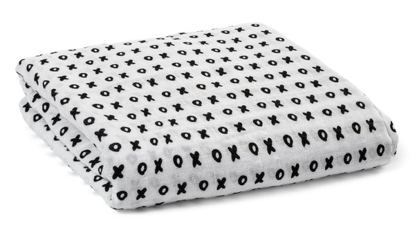 Xoxo - ORGANIC COTTON SWADDLE BLANKET