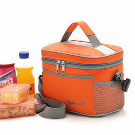 12L Cooler Bag Car ice pack picnic Food Drink Insulated Tableware Bags Thermo Bag isothermal meal