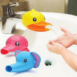 1 pc Free shipping Happy Fun Animals Faucet Extender Baby Tubs Kids Hand Washing Bathroom Sink Gift Fashion and Convenient