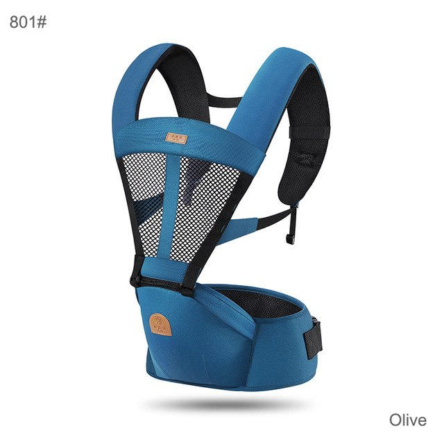 (11.11 Pre-order) Ergonomic Baby Carrier Backpack 0-48 Months Bebe Sling Hipseat Kangaroo Backpack Front Carry Pouch up to 25KGS