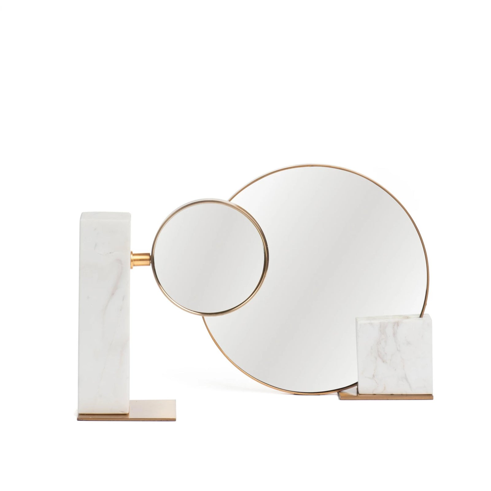 Abstractly Marble Mirror