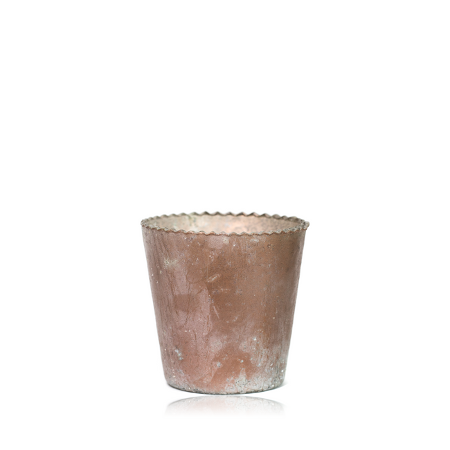 Peachy Keen Tea Light Holder Votive