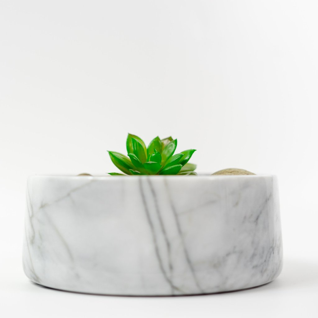 hand carved Iconic Marble planter