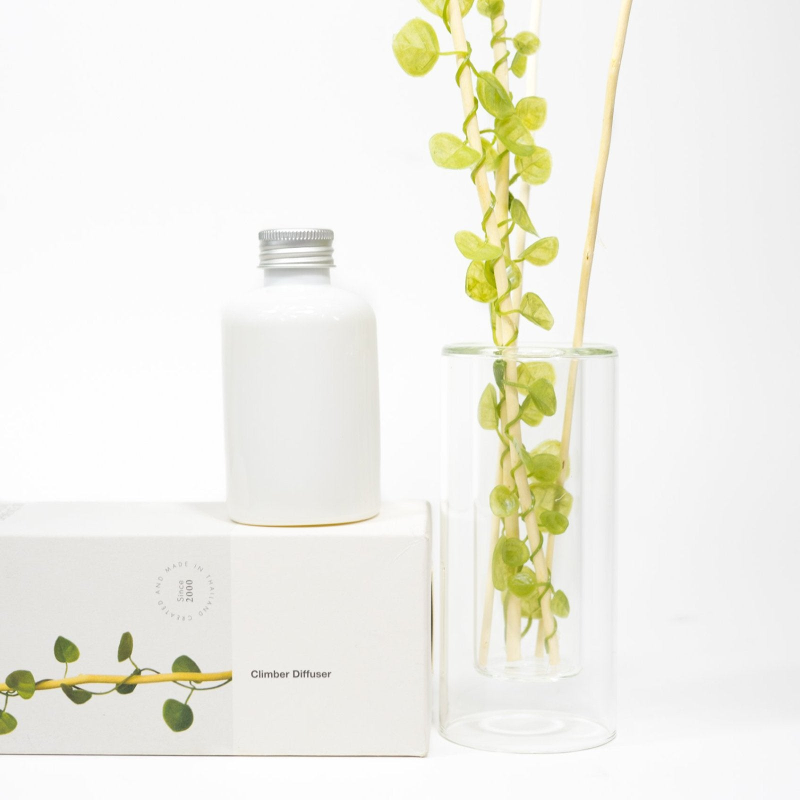 Well designed Aroma Diffuser Set has refreshing aromatic scent with reed leaves