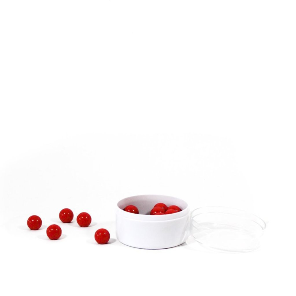 Red Spherical Magnets