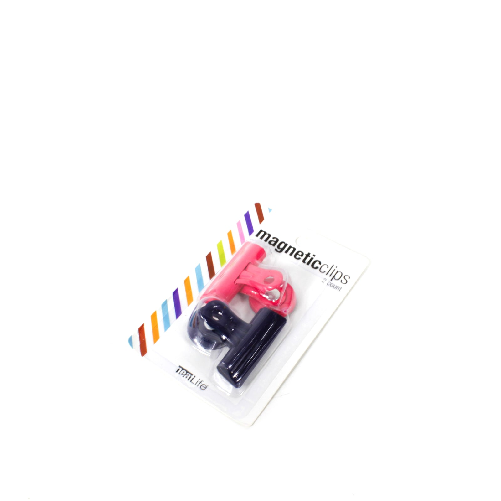 colourful magnetic clips