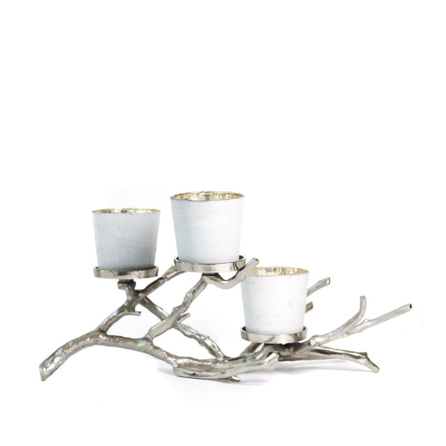 Wood Branch Candelabra