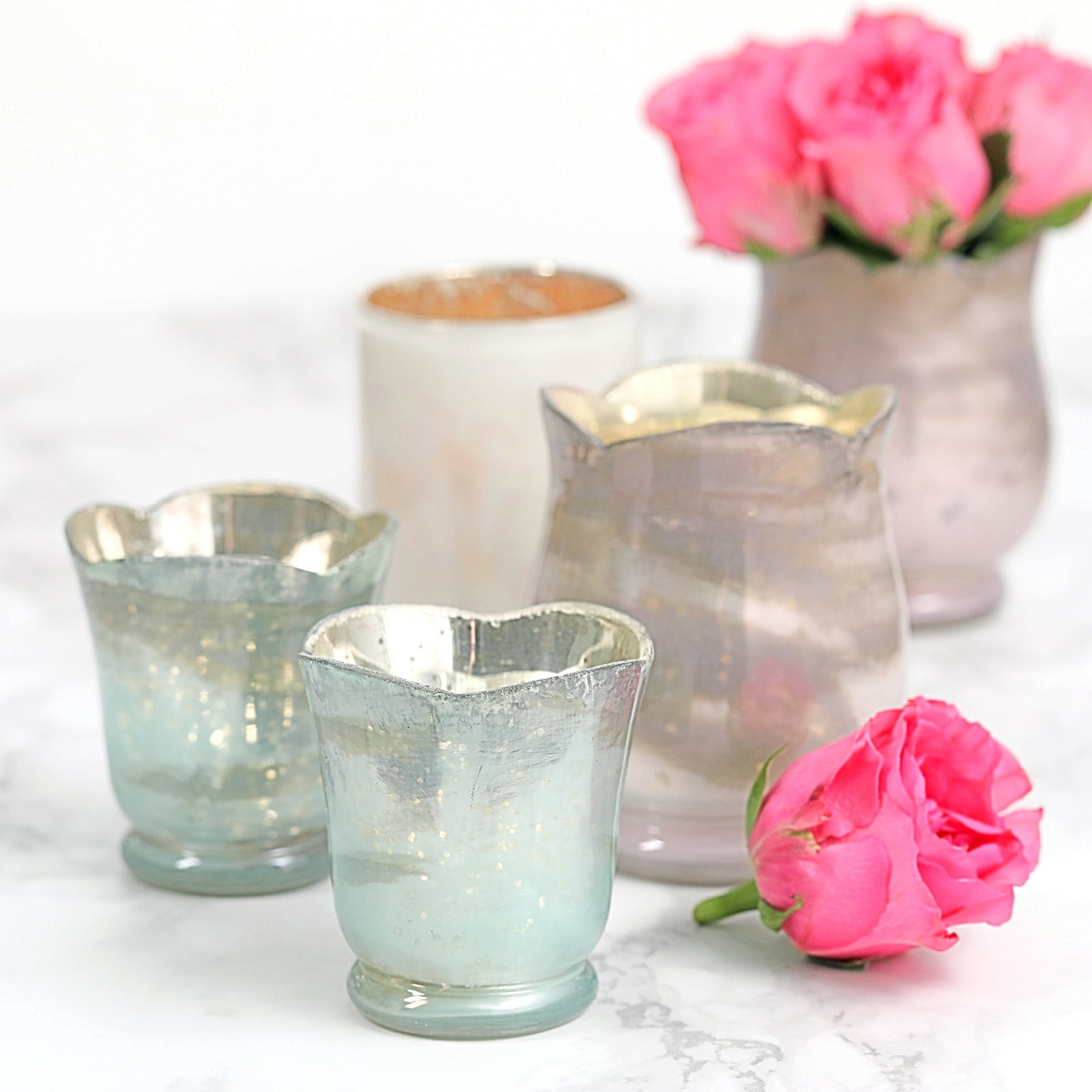Rose Shaped Votive