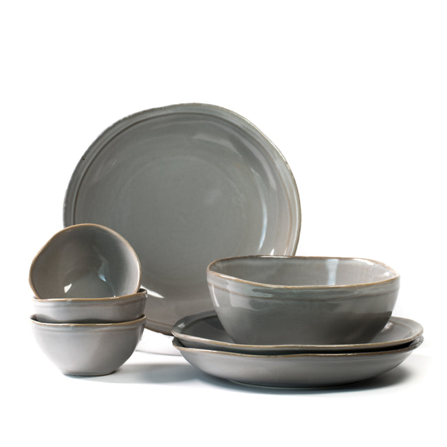 Mist Grey Dinnerware Collection