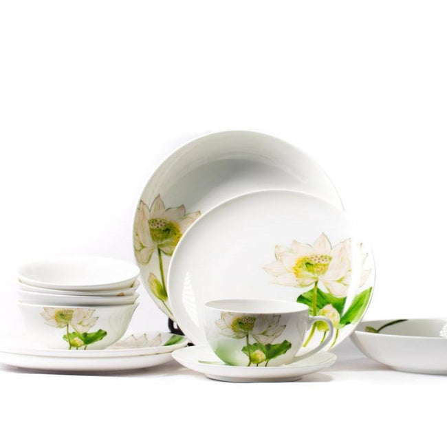 Lotus Gourmet Porcelain Collection