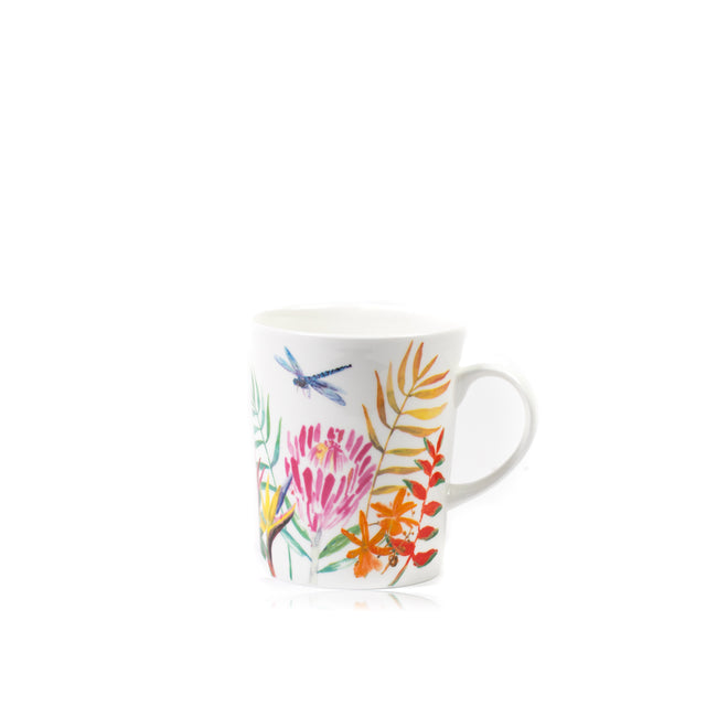 Dragonfly Signature Porcelain Mug
