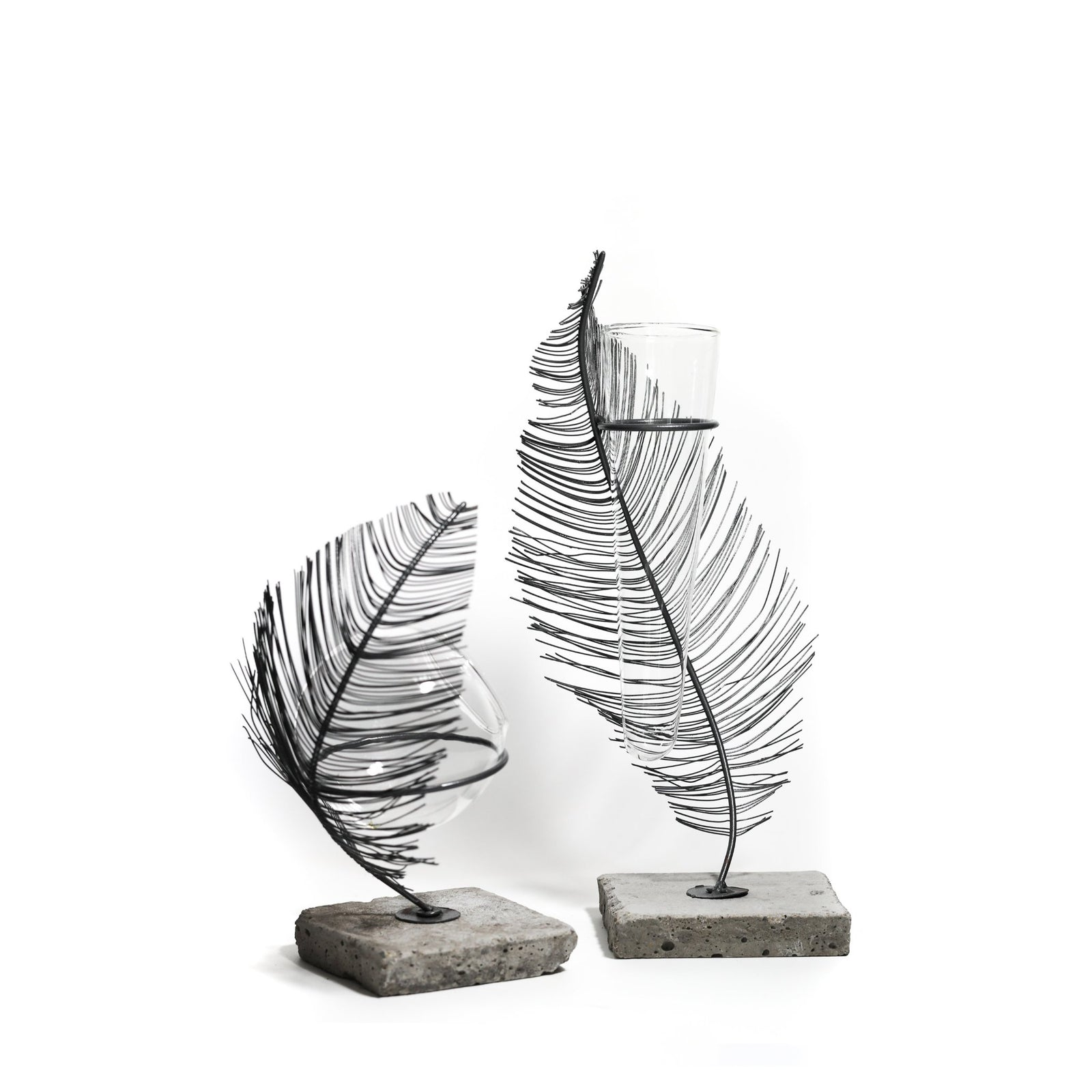 Feather Stand Vase