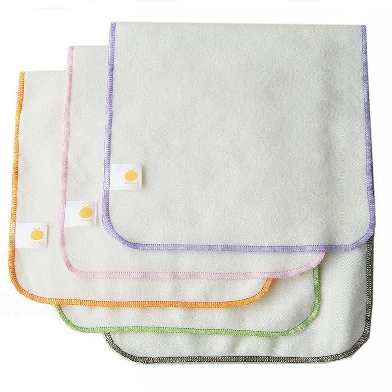 Bamboo Flannel Burp Cloths - 5 Pack Kids - Girls - Apparel