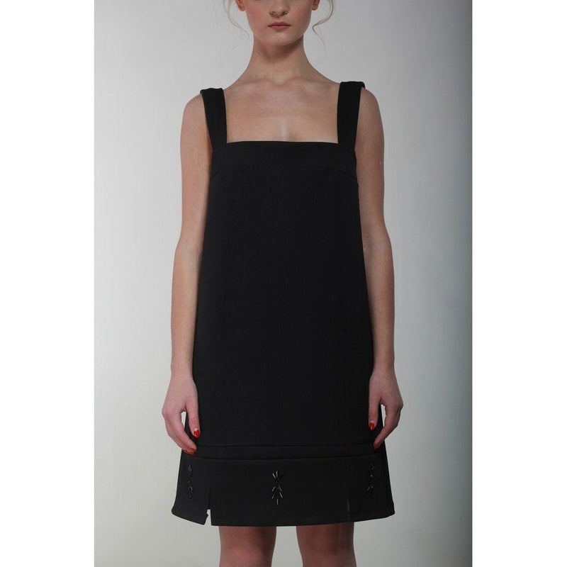 Black Hand Embellished Pinafore Women - Apparel - Dresses - Day To Night