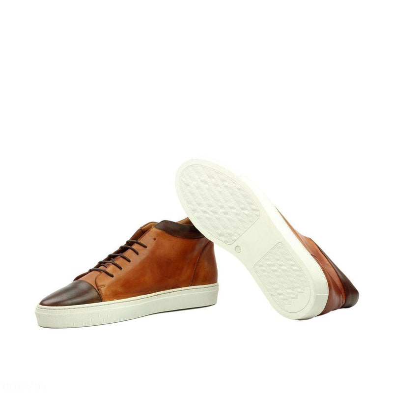 Bowie High Top Sneakers. Quality Comfort & Construction. Men - Shoes - Sneakers