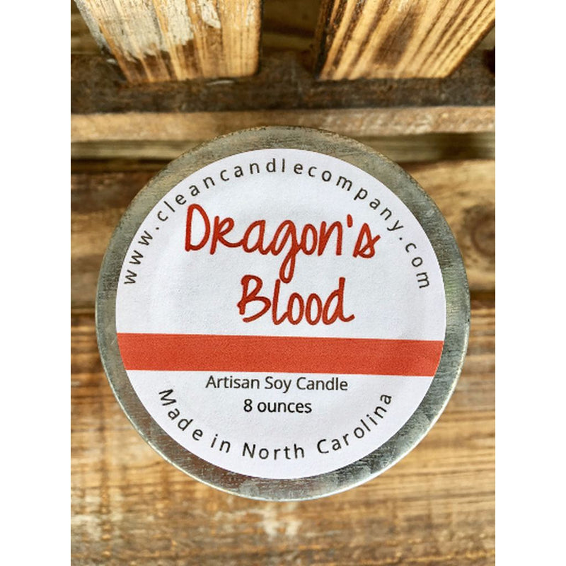 Candles-Dragons Blood - 8 Oz-Made In The Usa. Home - Candles
