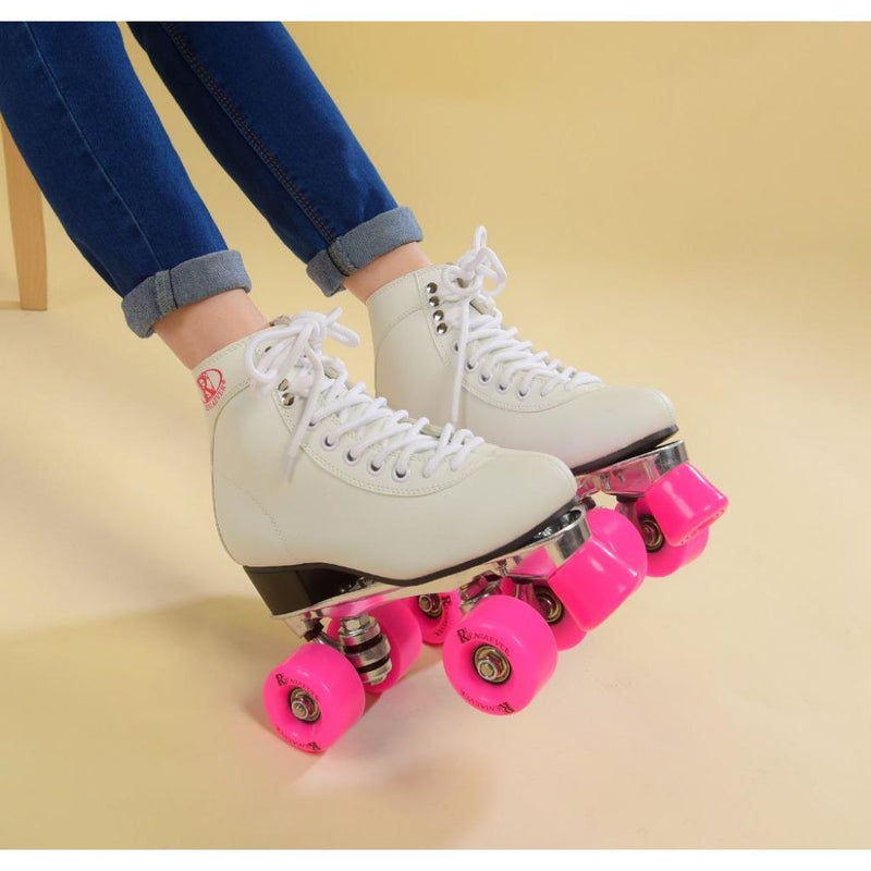 Classic Retro 4 Wheels Quad Roller Skates.