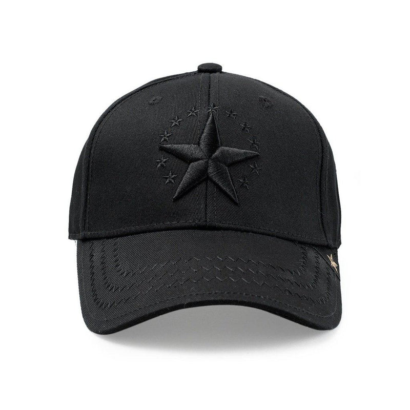 Dad Hat - Star All Black Men - Accessories - Hats