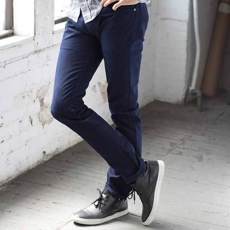 Eco Blue Selvedge Jeans Men - Apparel - Denim -