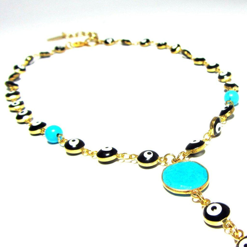 Evil Eye Lariat Women - Jewelry - Necklaces