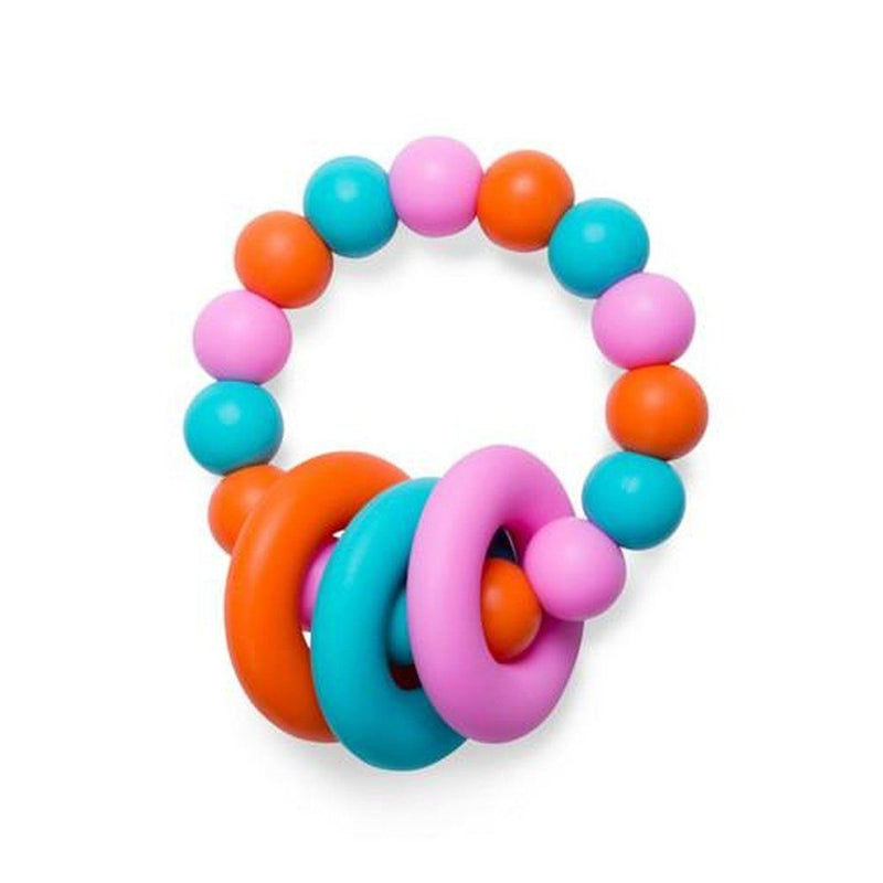 Food Grade Silicone Teething Ring Peach Melba Kids - Girls - Accessories