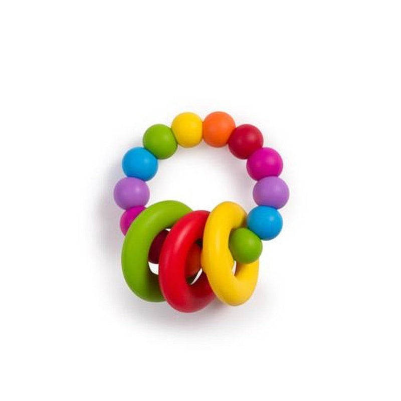 Food Grade Silicone Teething Ring Rainbow Kids - Girls - Accessories