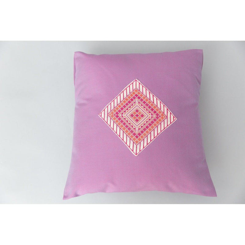 Hand-Crafted In The Palestinian Territories-Buhayra Pillow Cover-Labour Of Love. Home - Pillows & Throws