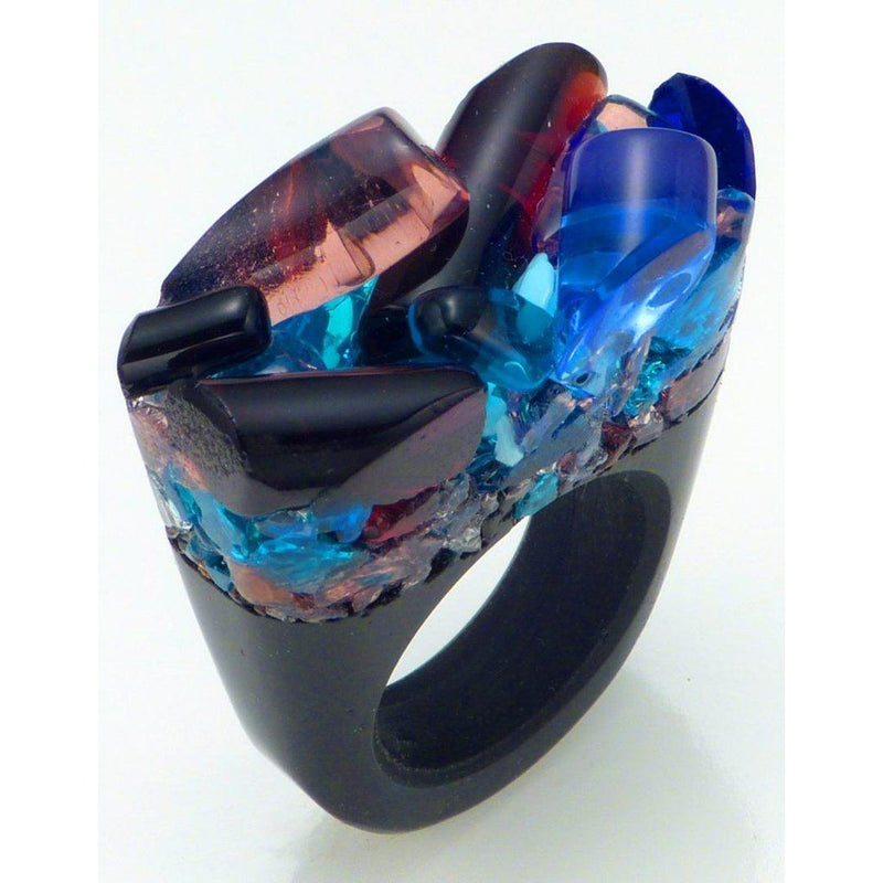 Hand-Crafted Murano Glass Ring - Delight Women - Jewelry - Rings
