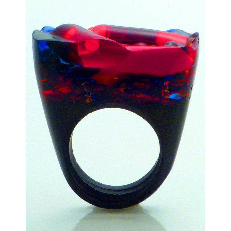 Hand-Crafted Murano Glass Ring - Lust Women - Jewelry - Rings